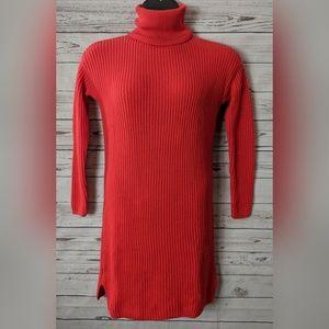 Ann Taylor Loft Petite Large L/S Turtleneck Dress
